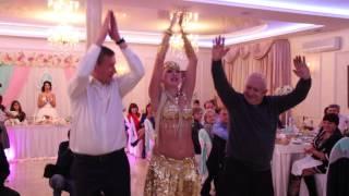 Шоу программа Восточный танец на свадьбу 23.10.15 arthall.od.ua