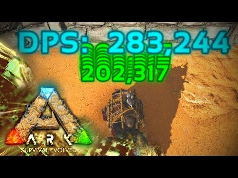 MODDED ARK: Scorched Poop ~ Ep 4 ~ 280k DPS POWER THORNY DRAGON!