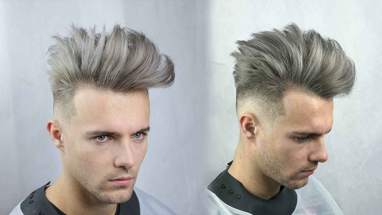 Messy Quiff Tutorial Mens Hair Youtube