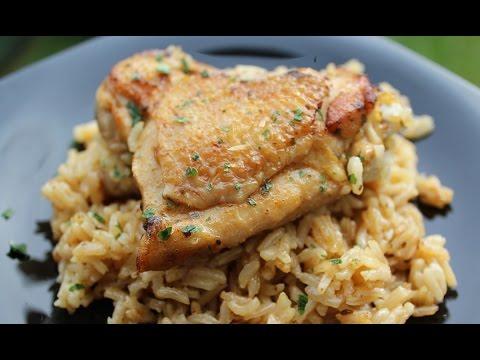 recette-poulet-et-riz-au-four-facile