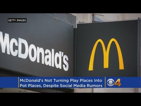 Colorado McDonald's Not Converting Play Areas Into Pot-Smoking Centers