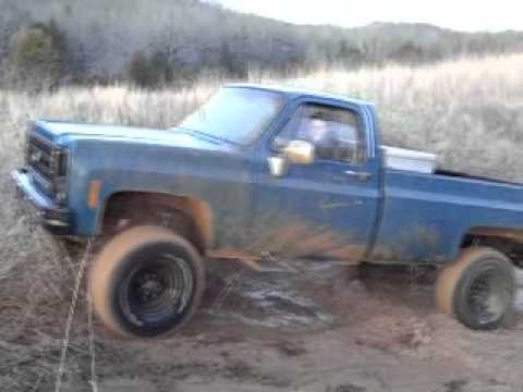 1980 Chevy Truck In The Mud