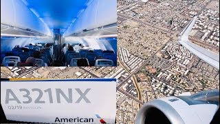 American Airlines Airbus A321neo (A321NX) Trip Report | Main Cabin Extra