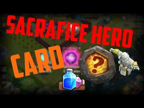 #111 Sacrifice Hero Card - Easy Shards!!! (Skill Points)