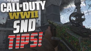COD Ww2 - How To Get Better! (Ww2 SnD Competitive Tips)