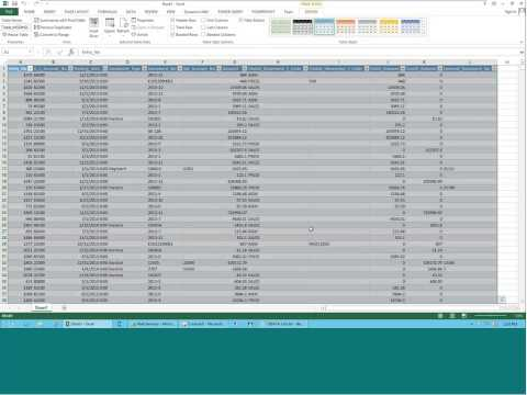 Microsoft Dynamics NAV Financial Reporting in Excel