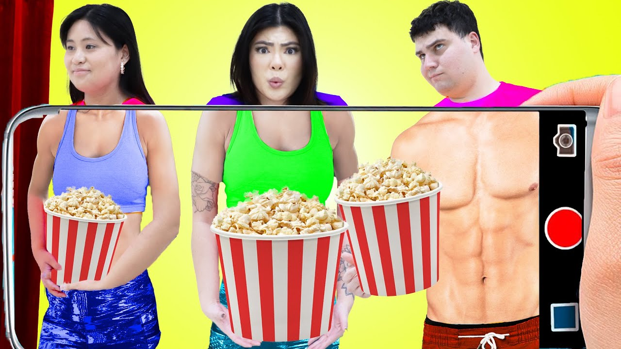 IF MY DAD RUNS THE MOVIE THEATER | 8 CRAZY SITUATIONS & FUNNY CHALLENGE BY CRAFTY HACKS