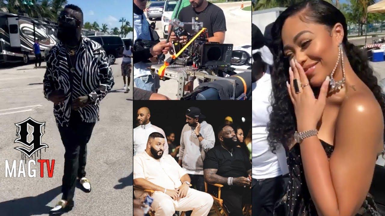 """Download Rick Ross & Jordyn Woods Behind The Scenes Of """"Big Tyme"""" Music Video! 🎥"""