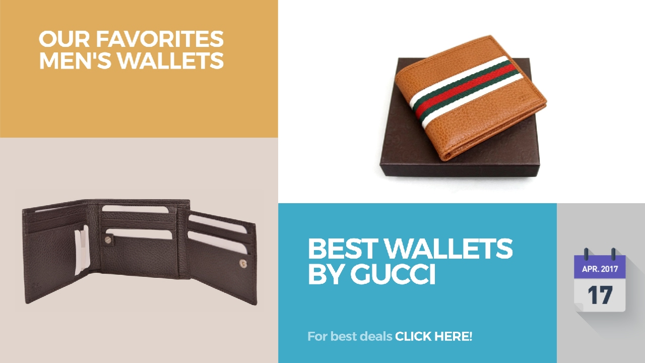 5c451d3c5eb7 Best Wallets By Gucci Our Favorites Men's Wallets - YouTube