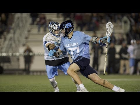 UNC Men's Lacrosse: Tar Heels Win at No. 14 Hopkins, 13-11