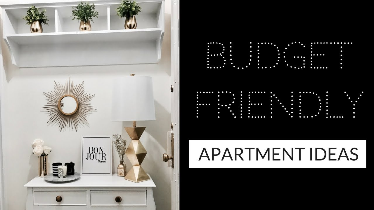 How To Make Your Apartment Look Expensive On A Budget Apartment Diy Ideas Youtube