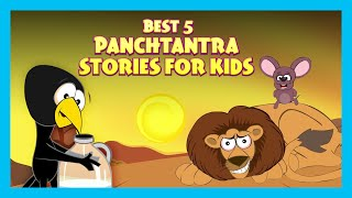 Best 5 Panchtantra Stories For Kids|English Animated Stories For Kids |Traditional Story | T-Series
