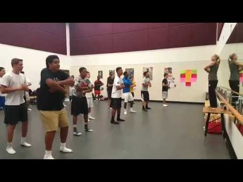Lewisville High School creates all-male dance for athletes