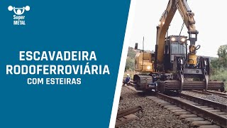 Kit rodoferroviário SUPER METAL para CAT 312