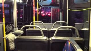 Ride on Santa Monica Big Rapid Blue Bus New Flyer L40LF [1080p]