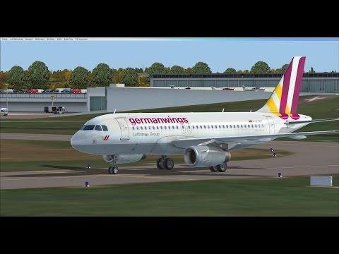 Flight Simulator X Livestream-Aufzeichnung / Mit dem A319 nach Hamburg und Leipzig