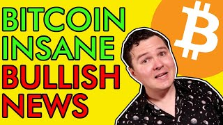 BITCOIN READY TO  EXPLODE TO $20,000! STUPIDLY BULLISH NEWS [Must See]