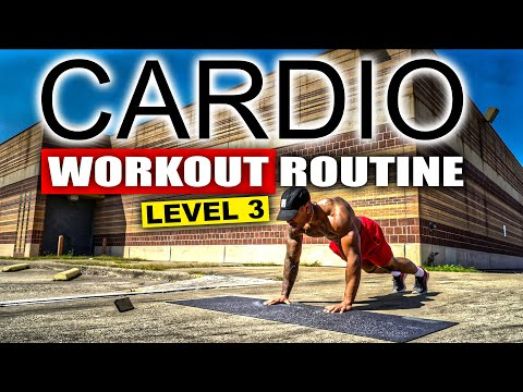 20 MINUTE FAT BURNING CARDIO WORKOUT(NO EQUIPMENT)