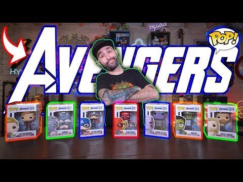 Massive Marvel Avengers Endgame Funko Pop Haul & Review!