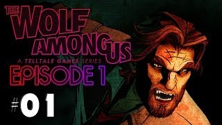 THE WOLF AMONG US Gameplay | Part 1 | Episode 1: Faith | AUF DIE FRESSE! Let´s Play German / Deutsch