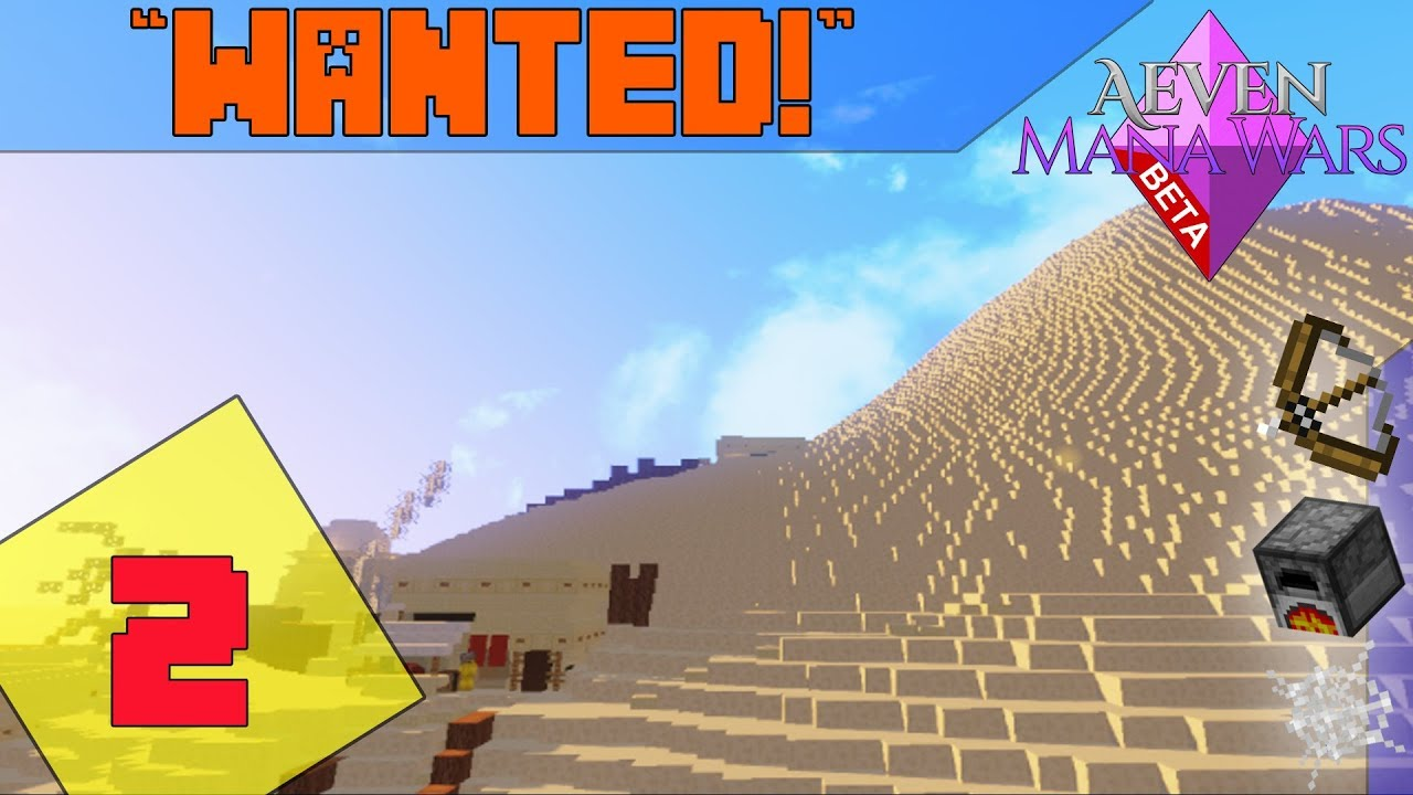 Minecraft MMORPG Server - Aeven Mana Wars |