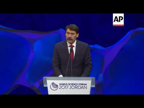 World Science Forum meets in MidEast for the first time