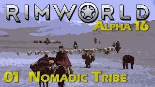 RimWorld | Episode 1 - Leaving the Sea Ice [Rimworld Alpha 16 Wanderlust Update]