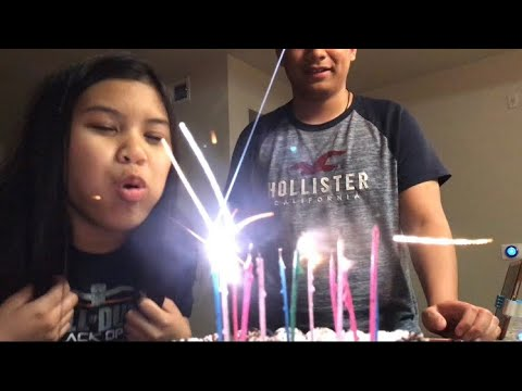 HAPPY 14TH BIRTHDAY AYEN | NAHILO | PINOY ABROAD VLOG
