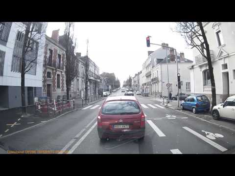 Driving In France - Nantes