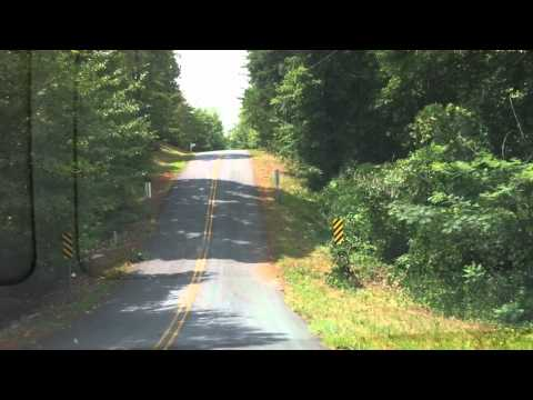 Clemson roller coaster road