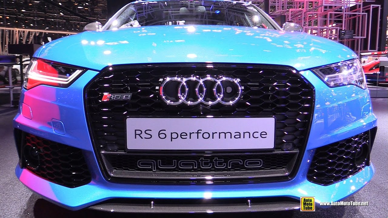 2017 audi rs6 performance exterior and interior walkaround 2016 paris motor show youtube. Black Bedroom Furniture Sets. Home Design Ideas