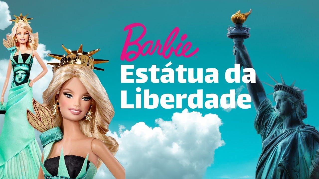 Barbie - Estátua da Liberdade