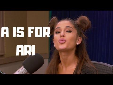 Learn The Alphabet with Ariana Grande