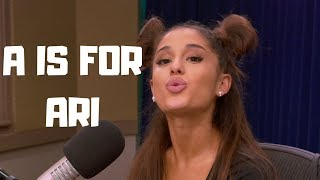 Learn The Alphabet with Ariana Grande
