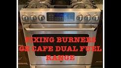 Stove Repair - GE Café Burners Don't Light