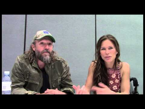 'The Last Ship' Rhona Mitra, John Pyper-Ferguson Interview
