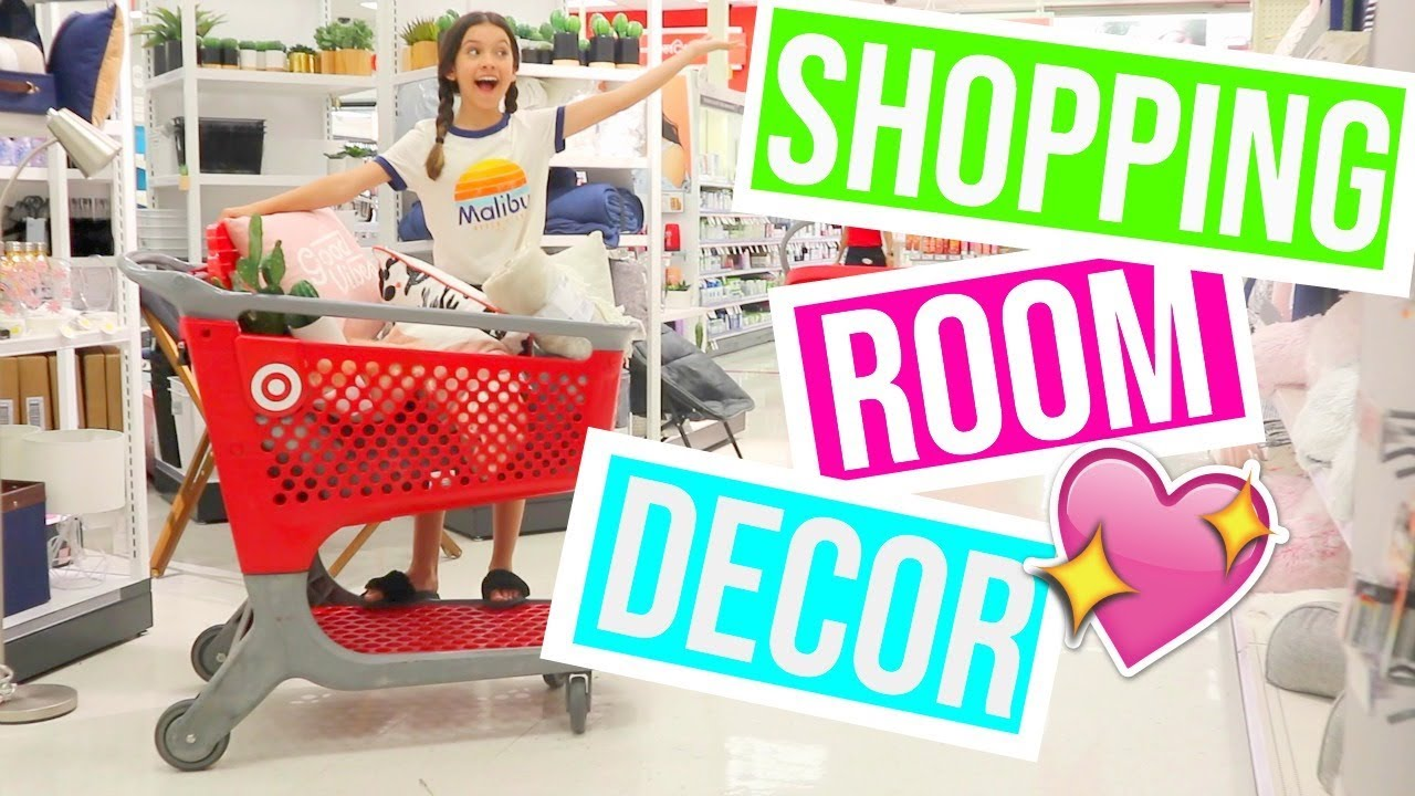 Shopping For My New Room Decor At Target Youtube