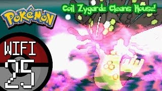Pokemon X and Y Wifi Battle #24: Vs. Dallas | Coil Zygarde Cleans House!