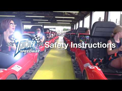 Thunder Raceway Safety Instructions