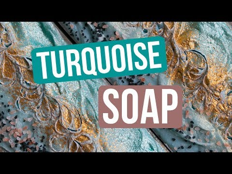 Turquoise Soap (Crystal, Gem, and Stone Collection) | Royalty Soaps