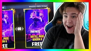 Omg!! BATTLE PASS-UL GRATUIT À FORTNITE???