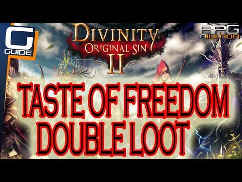 DIVINITY ORIGINAL SIN 2 - Taste of Freedom DOUBLE LOOT Quest Walkthrough
