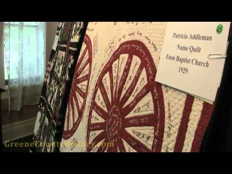 Quilt Show at Greene County Historical Society Museum