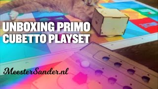 Primo Cubetto Playset - Unboxing video