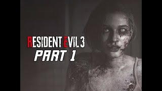 RESIDENT EVIL 3 REMAKE Walkthrough Part 1 - First 2 Hours!!! (RE3 PC Gameplay)