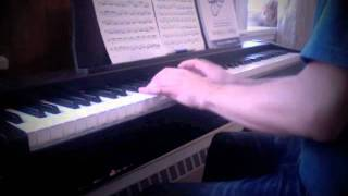 Bach - Cello Suite No. 1, Prelude (played on piano)