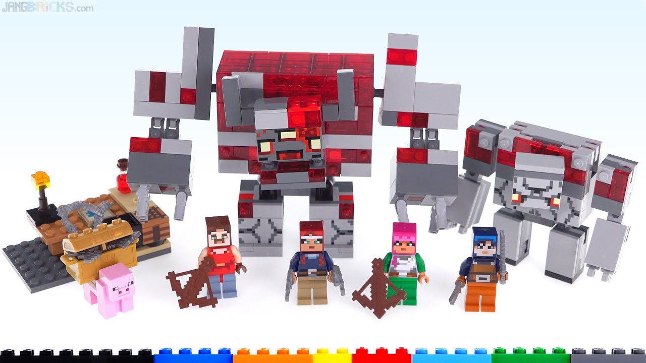 New canon?! LEGO Minecraft Dungeons The Redstone Battle review! 10