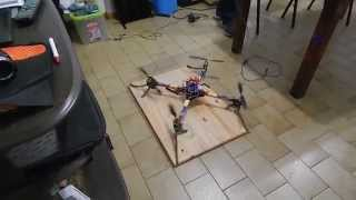 Tango Drn - Arduino Controlled Drone - First Fly Part 2