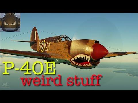 War Thunder SIM -P40 E1- Something Strange Is Going On