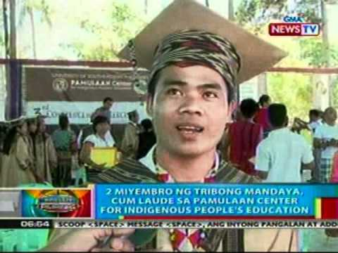 BP: 2 sa tribong Mandaya, Cum Laude sa Pamulaan Center for Indigenous People's Education